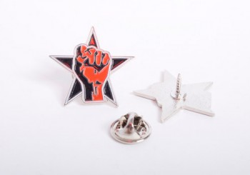 STAR & FIST PIN