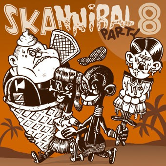V.A. SKANNIBAL PARTY VOL.8 CD