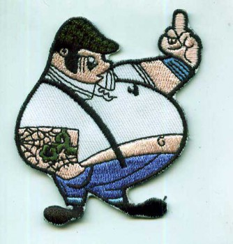 FETTER SKINHEAD PATCH
