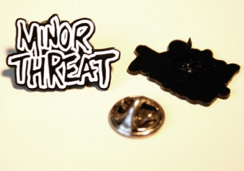 MINOR THREAT PIN