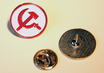 HAMMER & SICKLE ROUND PIN