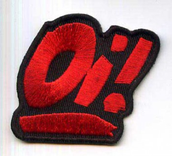 OI! PATCH RED
