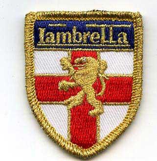 LAMBRETTA ENGLAND PATCH