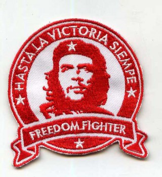 CHE GUEVARA HASTA LA VICTORIA PATCH RED