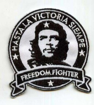 CHE GUEVARA HASTA LA VICTORIA PATCH BLACK