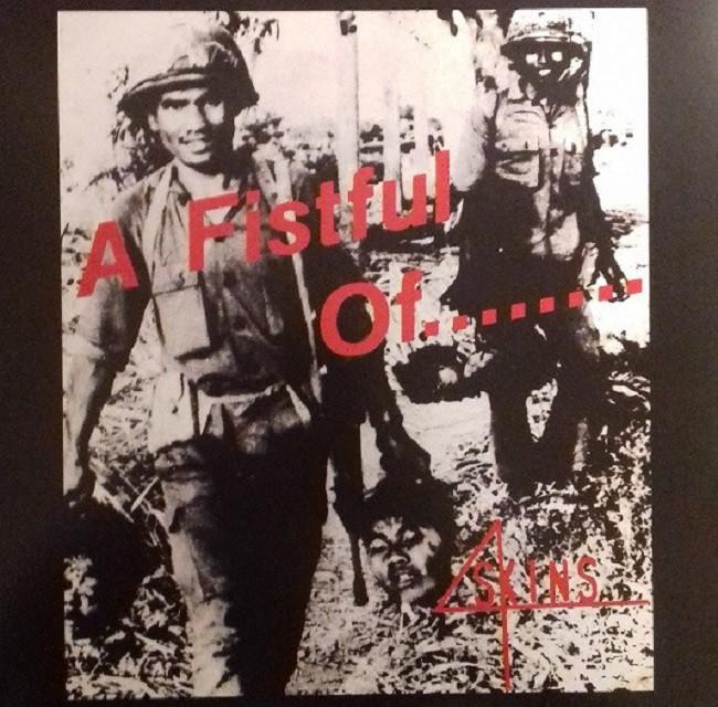 4 Skins – A Fistful Of........ 4Skins LP Reissue 2021 white Vinyl