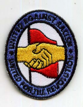 UNITED AGAINST RACISM PATCH