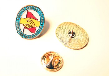 UNITED AGAINST RACISM PIN
