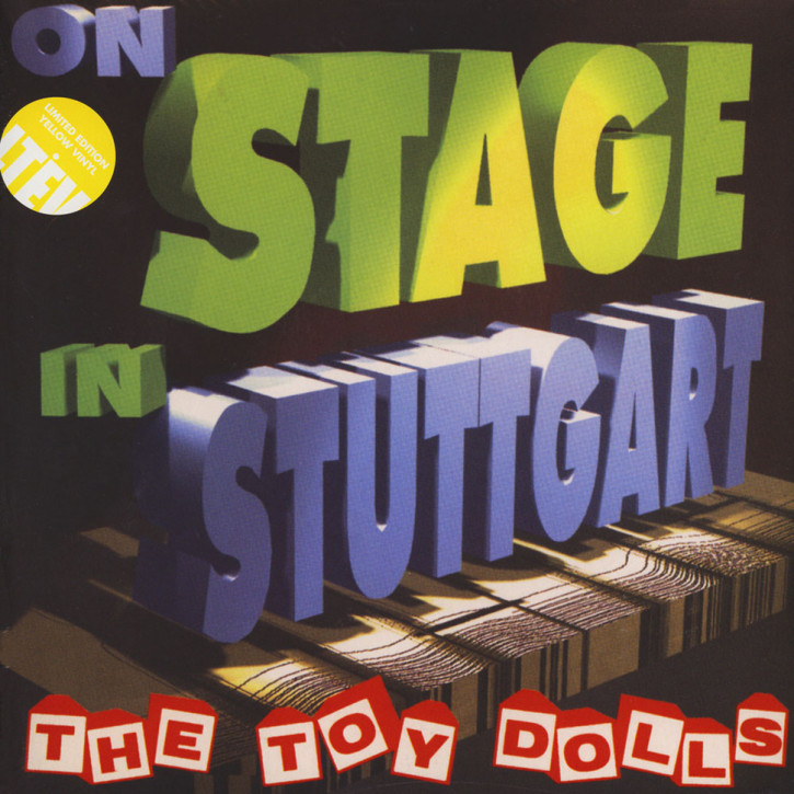 The Toy Dolls ‎– On Stage In Stuttgart Double LP