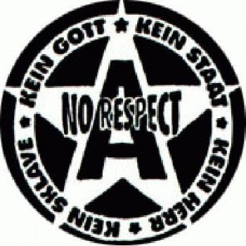 No Respect - Logo Black