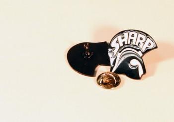 SHARP HELMET BLACK