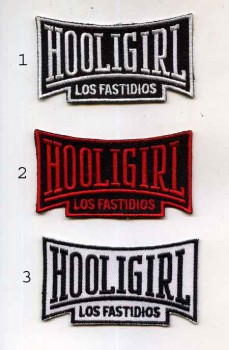LOS FASTIDIOS HOOLIGIRL PATCH (3 colours)