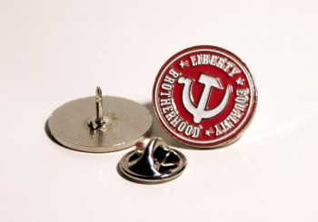 LIBERTY,EQALITY,BROTHERHOOD PIN