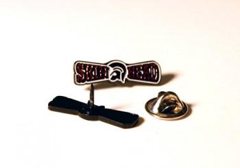 SKINHEAD TROJAN (red) PIN