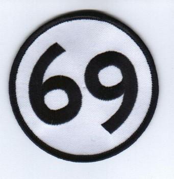 Aufnaeher \'69\'