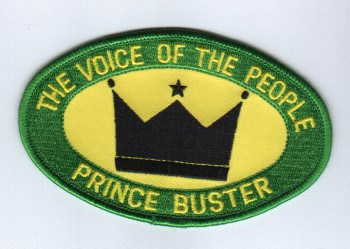 Aufnaeher \'Prince Buster - The Voice Of The People\'