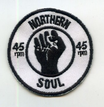 NORTHERN SOUL 45rpm PATCH