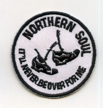 NORTHERN SOUL NEVER BE OVER PATCH