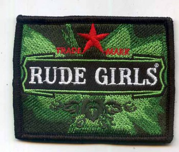 RUDE GIRLS BEERSTYLE PATCH