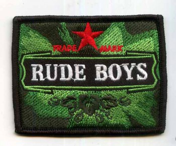 RUDE BOYS BEERSTYLE PATCH