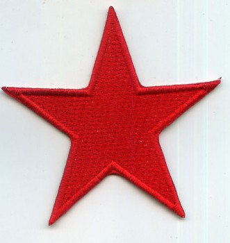 RED STAR/ROTER STERN PATCH