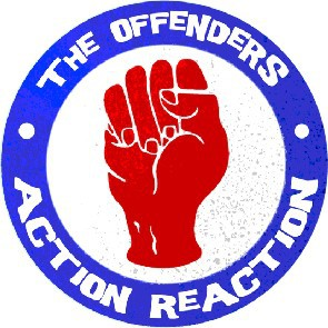 OFFENDERS FIST BUTTON