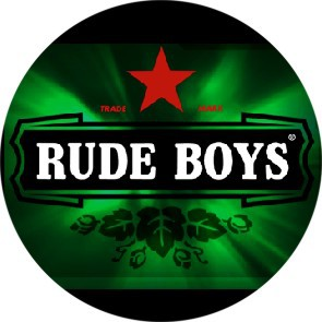 RUDE BOYS BEERSTYLE BUTTON