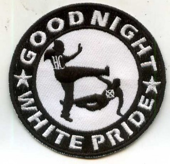 GOOD NIGHT WHITE PRIDE PATCH
