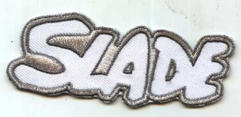 SLADE PATCH white