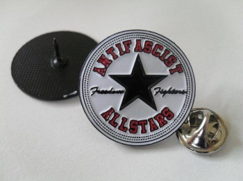 ANTIFASCIST ALLSTARS PIN black