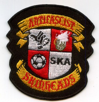 ANTIFASCIST SKINHEADS PATCH