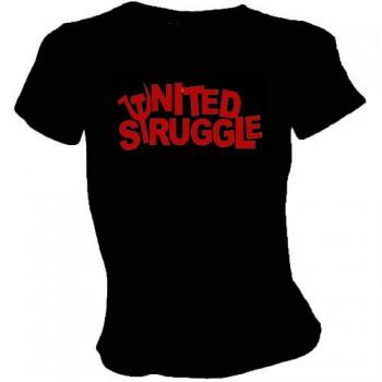 UNITED STRUGGLE LOGO GIRLIE