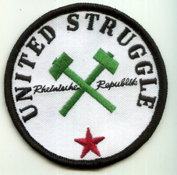 UNITED STRUGGLE HAMMERS PATCH