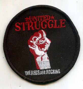 UNITED STRUGGLE FIST PATCH