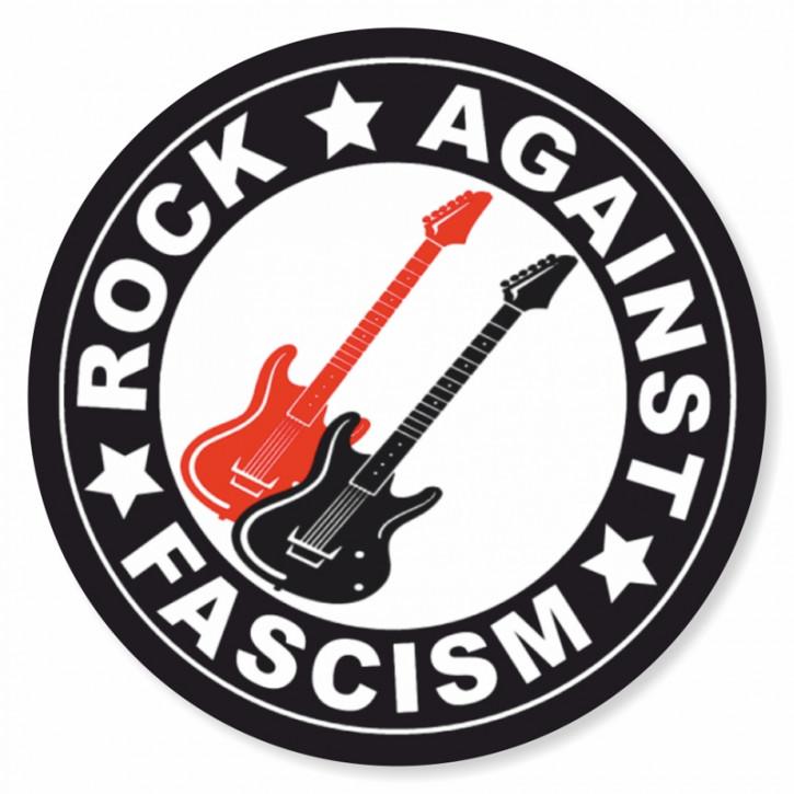 ROCK AGAINST FASCISM PVC AUFKLEBER