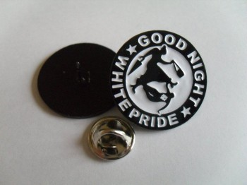 GOOD NIGHT WHITE PRIDE (OMA VERSION) PIN