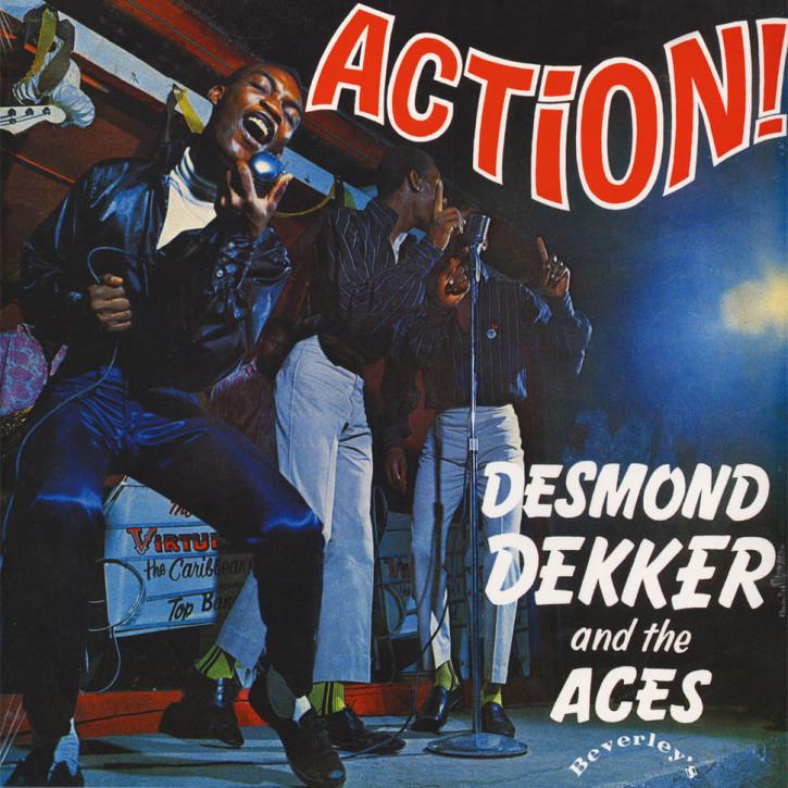 Desmond Dekker & The Aces Action LP