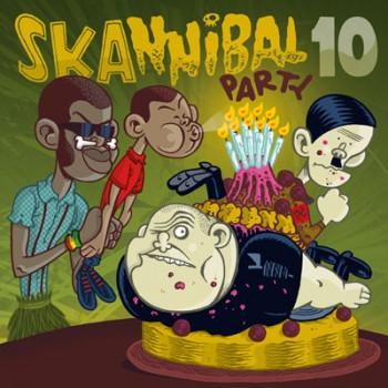 V.A. SKANNIBAL PARTY VOL.10 CD