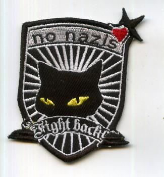 NO NAZIS FIGHT BACK PATCH