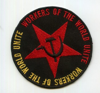 WORKERS OF THE WORLD PATCH