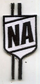 NERD ACADEMY LOGO WHITE PATCH