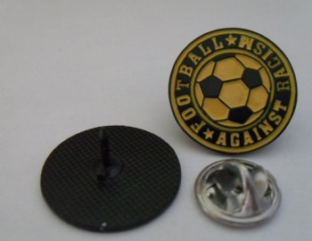 FOOTBALL AGAINST RACISM SMALL PIN