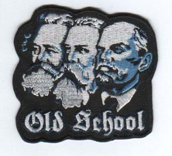 OLD SCHOOL PATCH (MARX,ENGELS,LENIN)