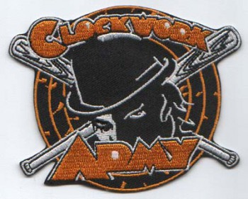 CLOCKWORK ARMY PATCH