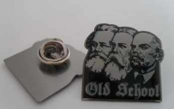 OLD SCHOOL PIN (MARX,ENGELS,LENIN)