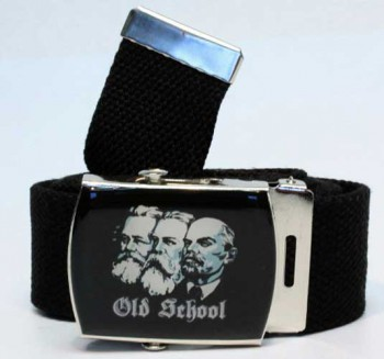 OLD SCHOOL (MARX,ENGELS,LENIN) BELT