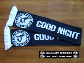 GOOD NIGHT WHITE PRIDE SCARF