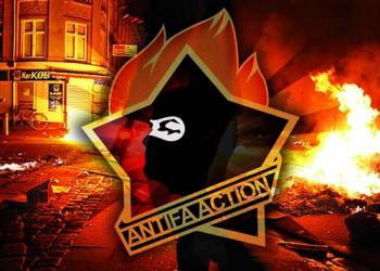 ANTIFA ACTION AUFKLEBER (10 STÜCK)