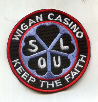 WIGAN CASINO KEEP THE FAITH PATCH