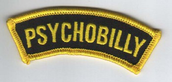 PSYCHOBILLY PATCH